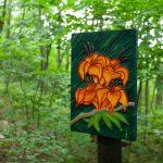 Flame azaleas art