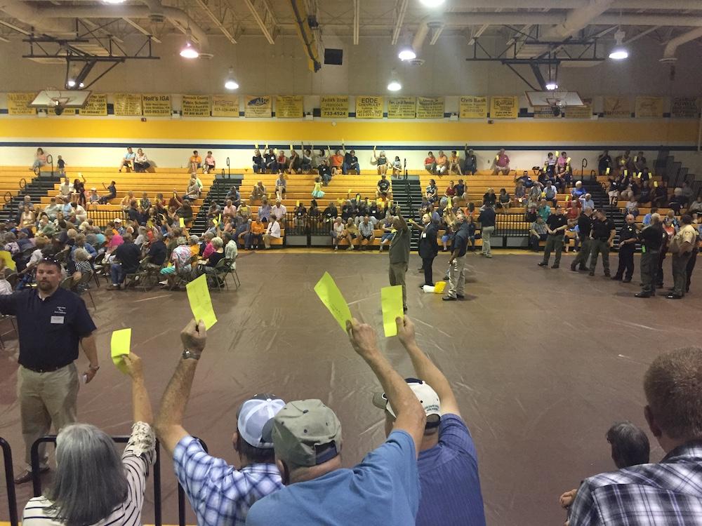 PVEC meeting vote