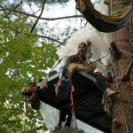 Tree-sit in path of Mountain Valley Pipeline