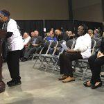 woman testifies at air board meeting