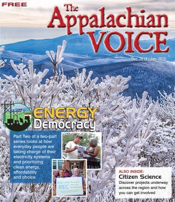 December 2018 / January 2019 Voice cover