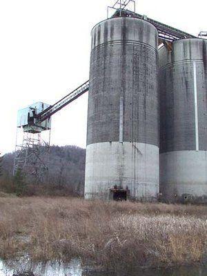 coal silos