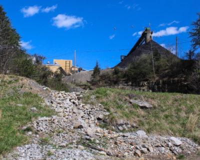 coal processing site