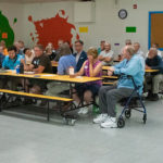 A community forum discusses closure of a fossil plant