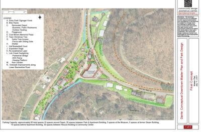 map showing planned community developments