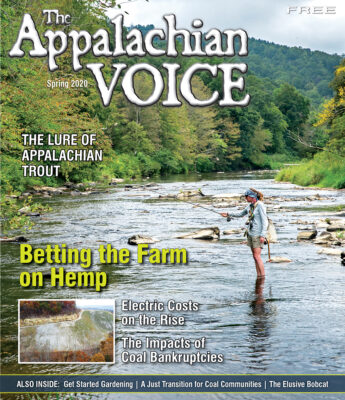 Spring 2020 Appalachian Voice Cover
