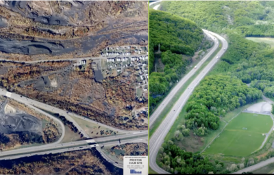 hanover recreation project before and after