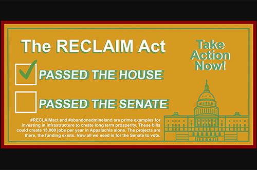 Pass the RECLAIM Act