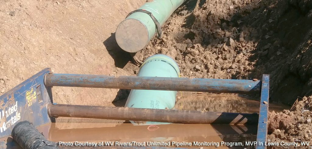 Mountain Valley Pipeline construction West Virginia