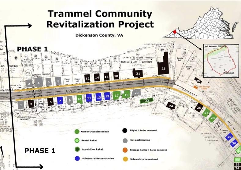 Trammel Community Revitalization Map