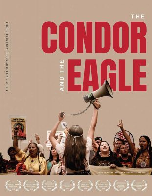 The Condor and the Eagle documentary promotional cover, click to see larger image