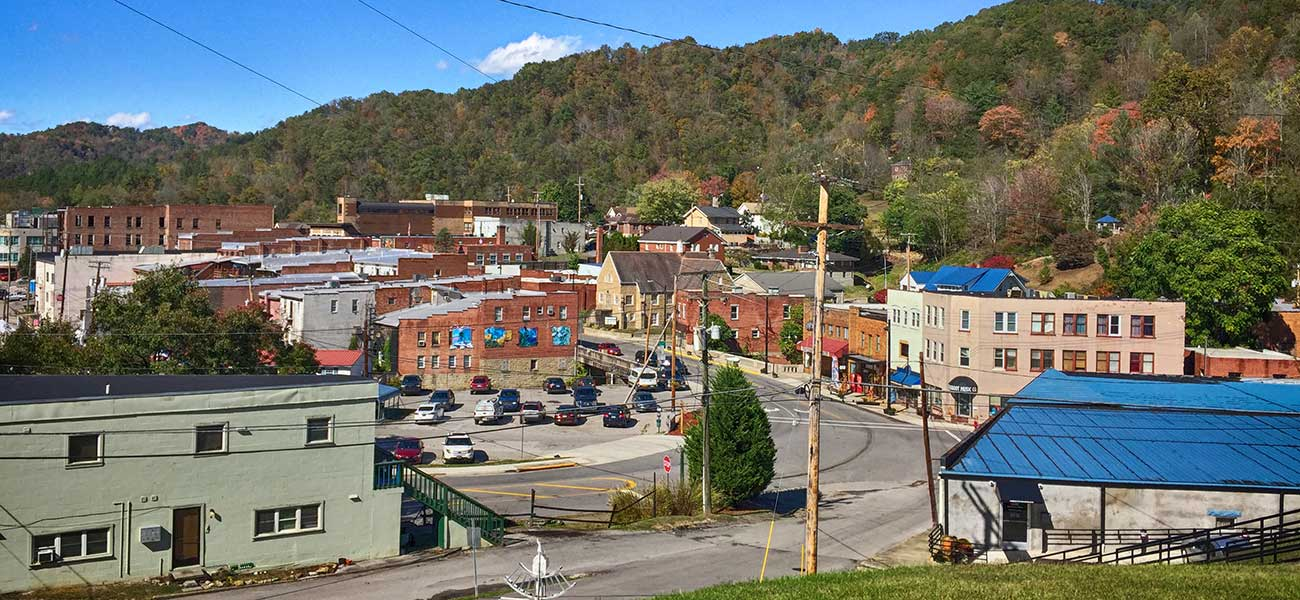 The town of Wise in Southwest Virginia