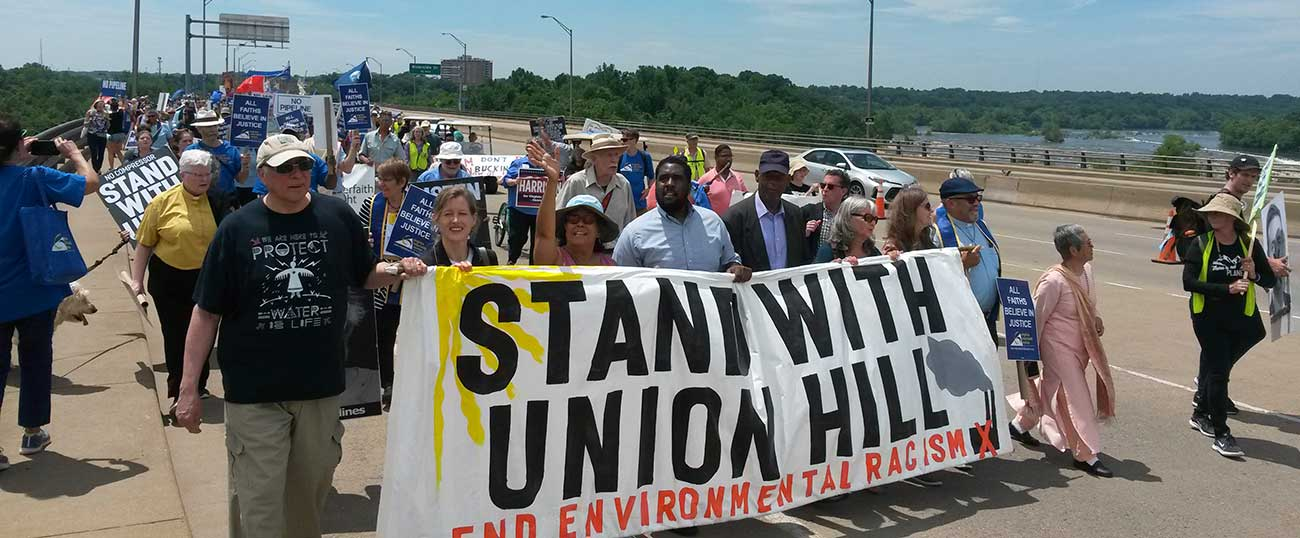 March to stand with Union Hill against the Atlantic Coast Pipeline