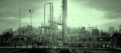 pipes, gauges, tanks and other industrial fixtures
