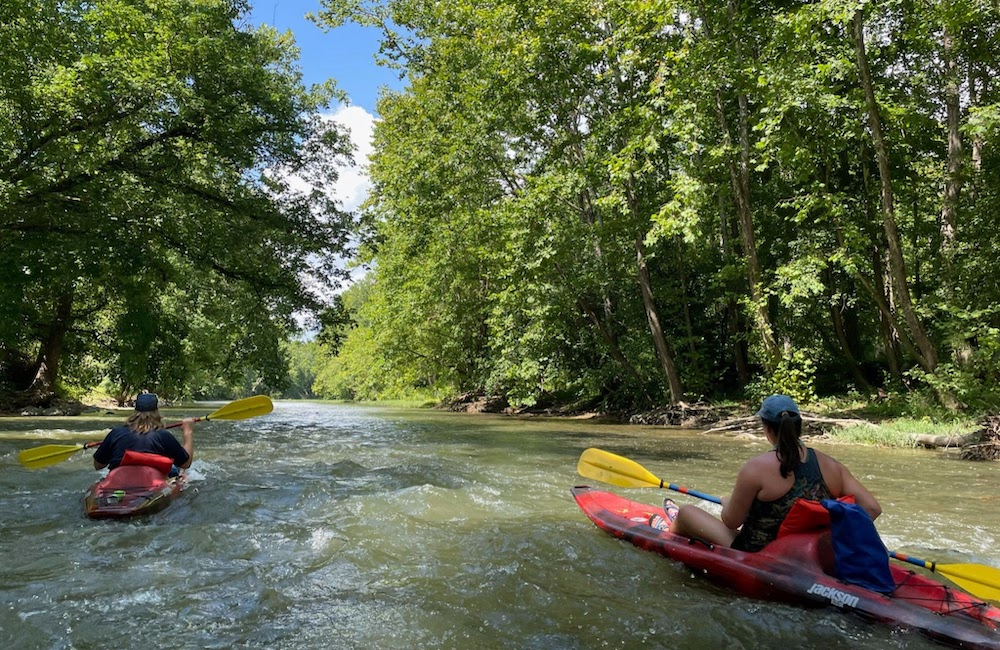 clinch river paddlers
