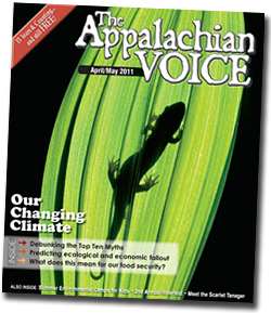 April / May 2011 issue of The Appalachian Voice