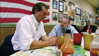 Robert F. Kennedy, Jr. and Bill Raney debate mountaintop removal in the film, The Last Mountain, by Uncommon Productions
