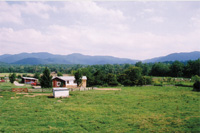 Warren Wilson College's farm in North Carolina's Blue Ridge Mountains raises livestock for sale and for use in the college dining facilities.